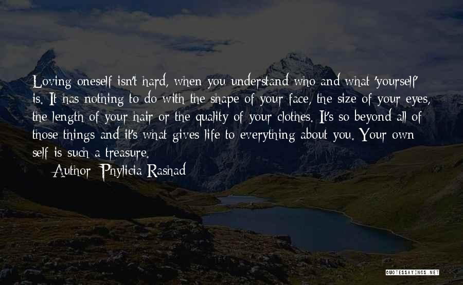 Loving Oneself Quotes By Phylicia Rashad