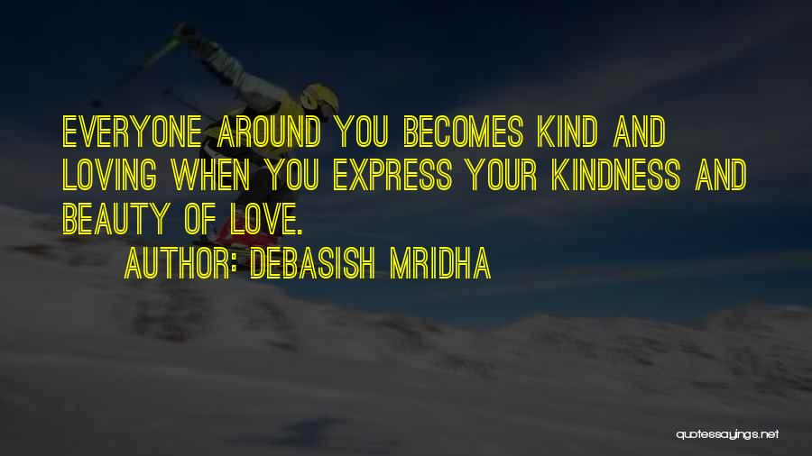 Loving Others For Who They Are Quotes By Debasish Mridha