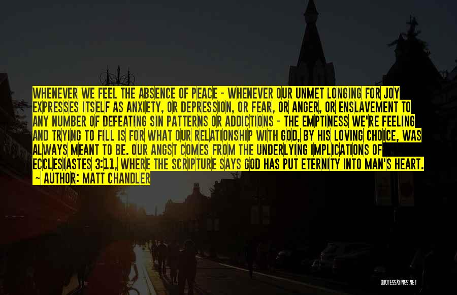 Loving Someone With All Your Heart Quotes By Matt Chandler