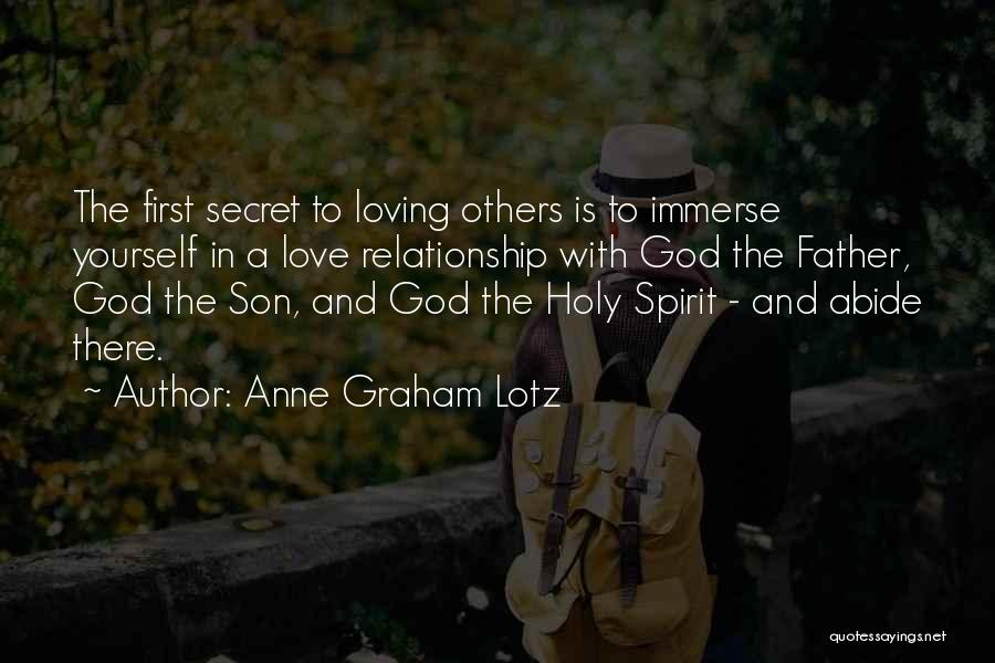 Loving Son Quotes By Anne Graham Lotz