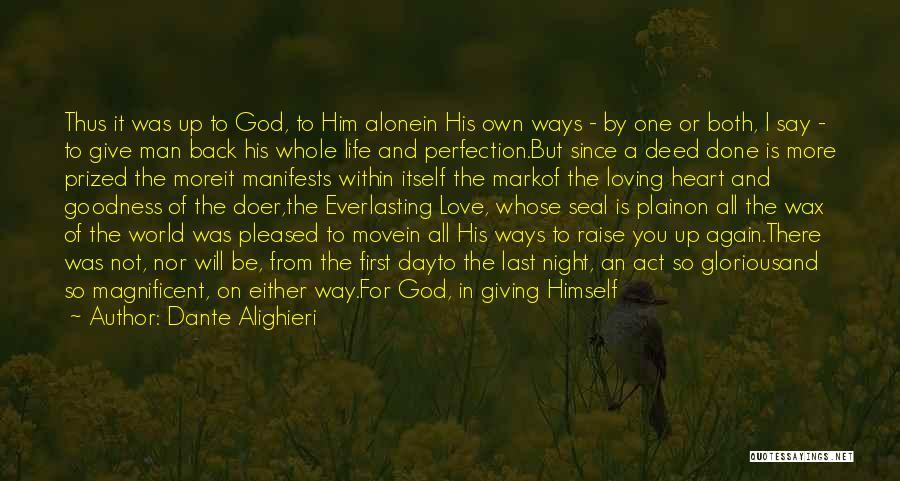Loving Son Quotes By Dante Alighieri