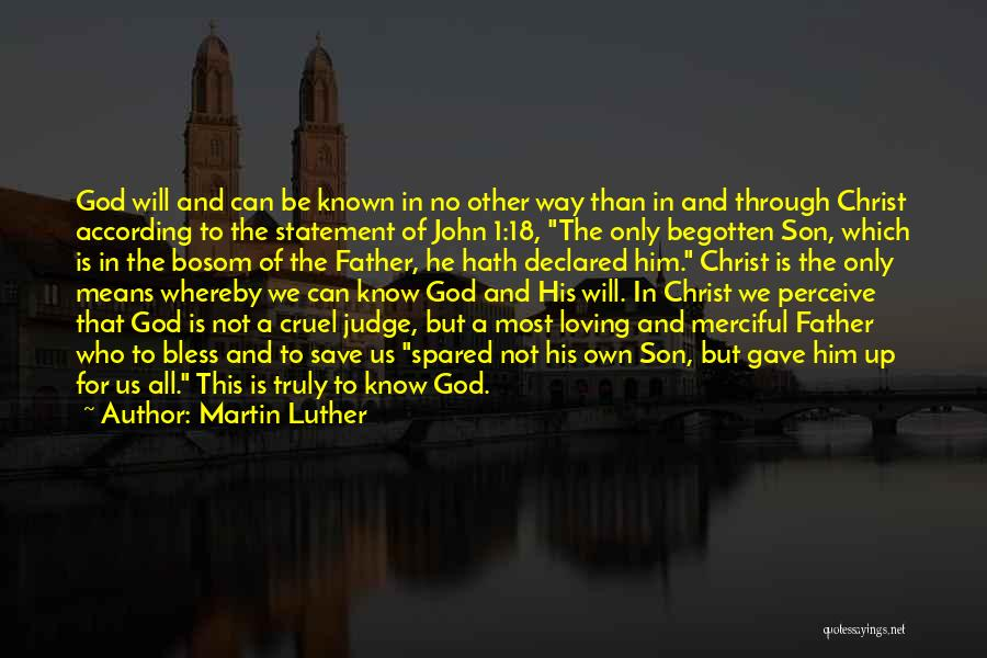 Loving Son Quotes By Martin Luther