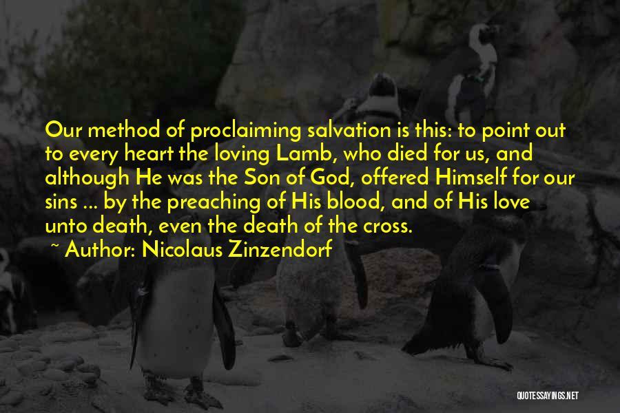Loving Son Quotes By Nicolaus Zinzendorf