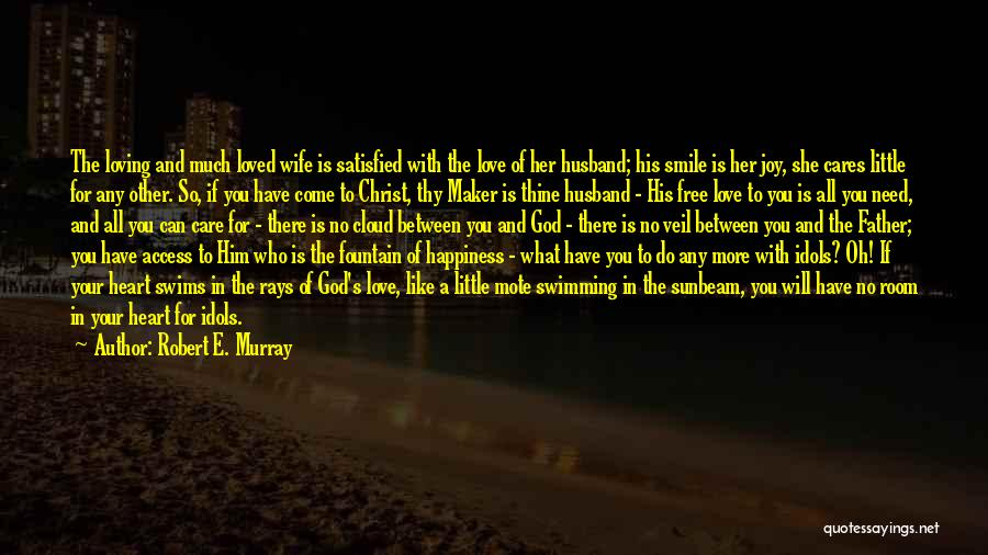 Loving You Is My Happiness Quotes By Robert E. Murray