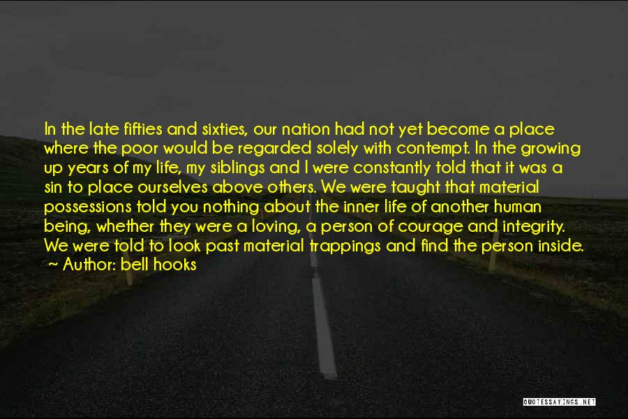 Loving Your Inner Self Quotes By Bell Hooks