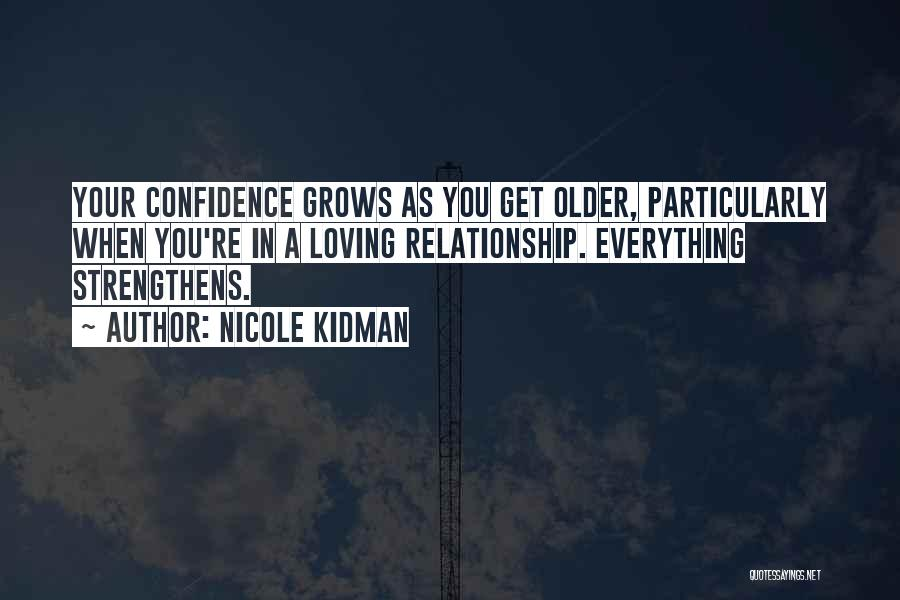 Loving Yourself And Self Confidence Quotes By Nicole Kidman