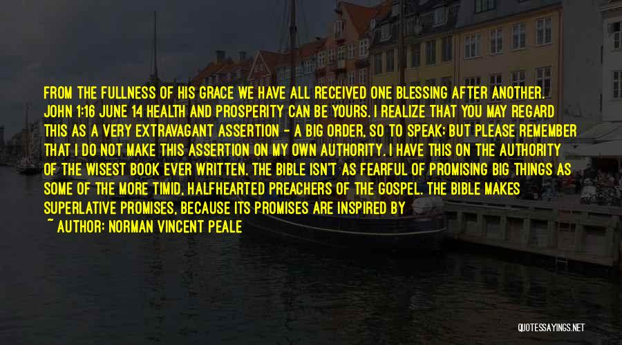 Loving Yourself Bible Quotes By Norman Vincent Peale