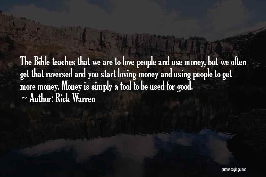 Loving Yourself Bible Quotes By Rick Warren