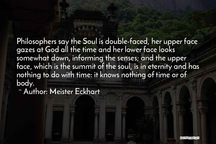 Lower Double Quotes By Meister Eckhart