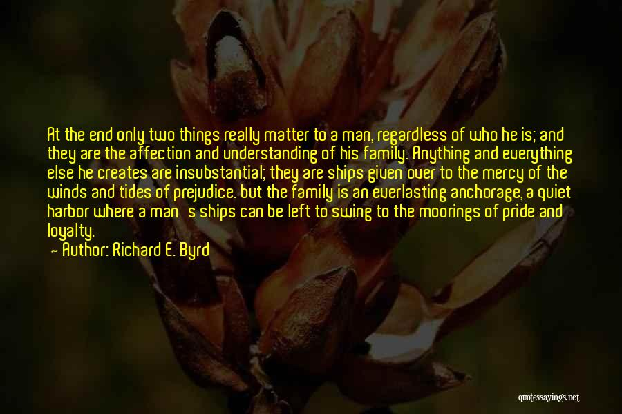 Loyalty To Family Quotes By Richard E. Byrd