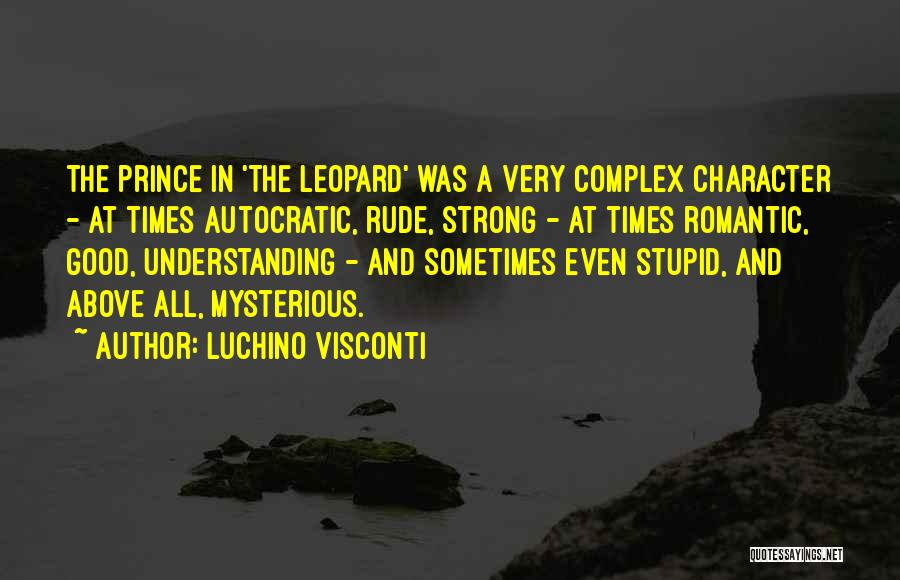 Luchino Visconti Quotes 1920596