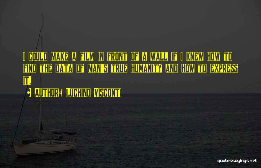 Luchino Visconti Quotes 217178