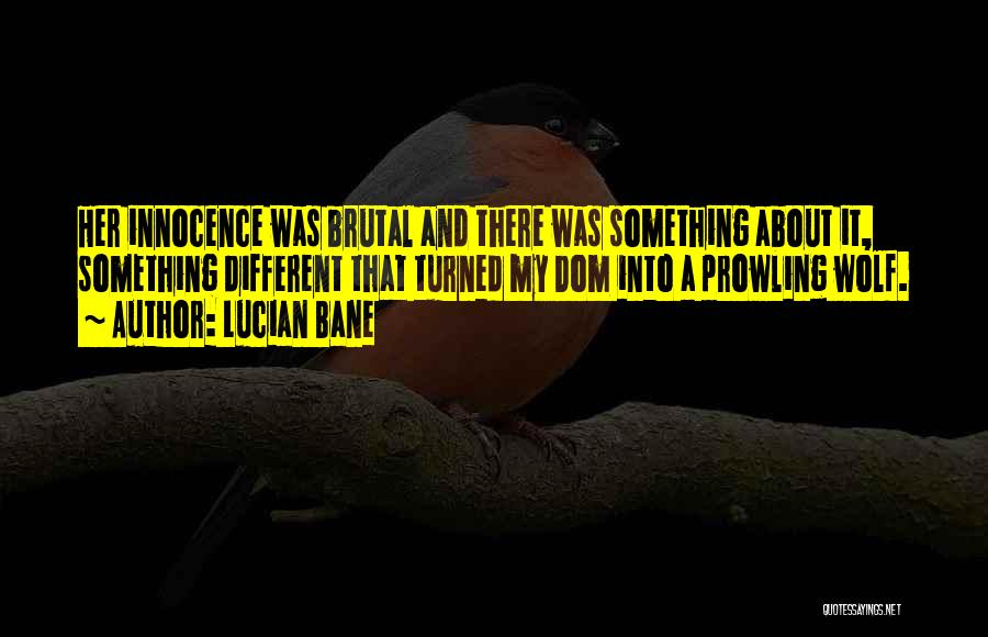 Lucian Bane Quotes 1889571