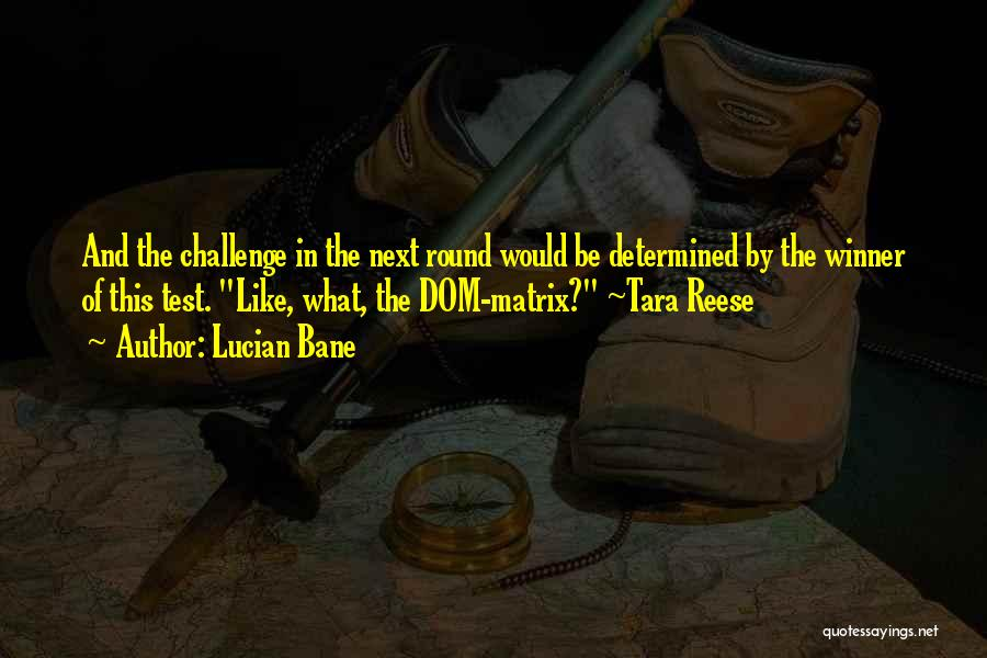 Lucian Bane Quotes 2178971