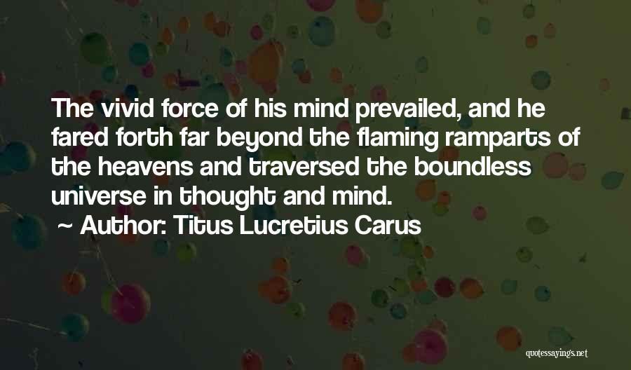 Lucretius Philosophy Quotes By Titus Lucretius Carus