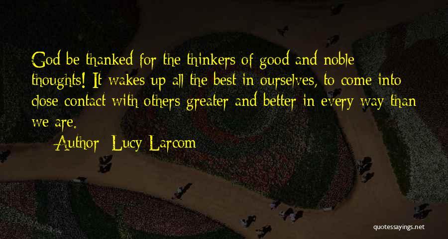 Lucy Larcom Quotes 1408520