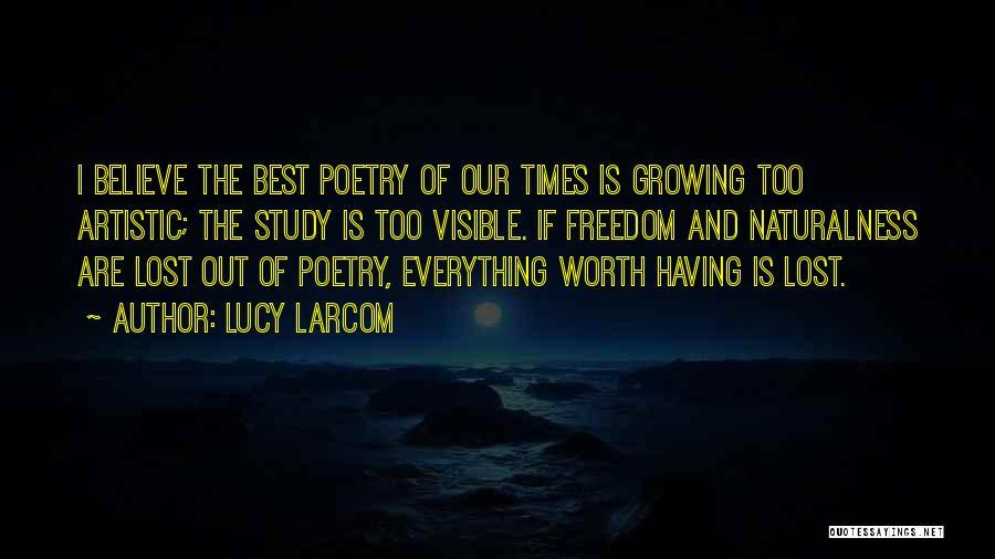 Lucy Larcom Quotes 1911910