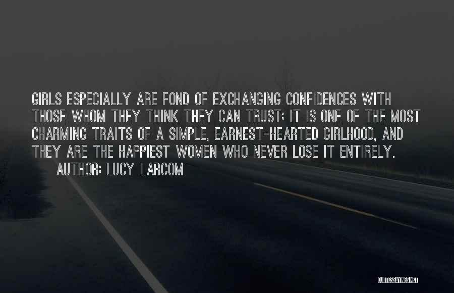 Lucy Larcom Quotes 708125