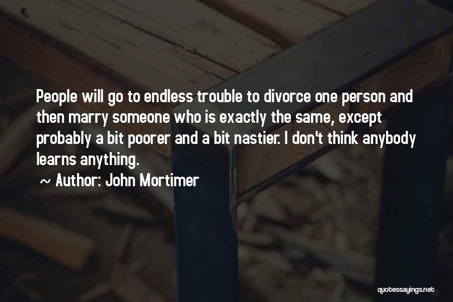Lucy Maud Montgomery Journal Quotes By John Mortimer