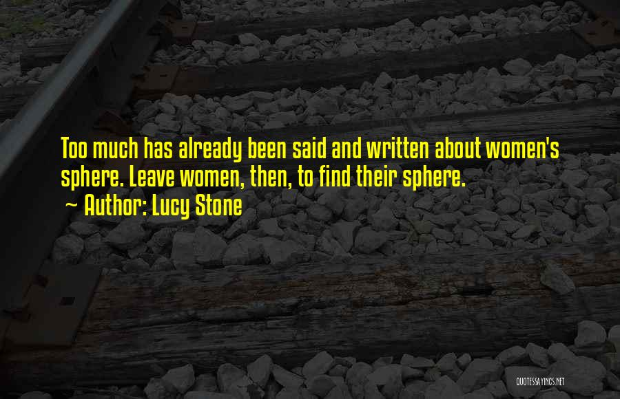 Lucy Stone Quotes 1931039