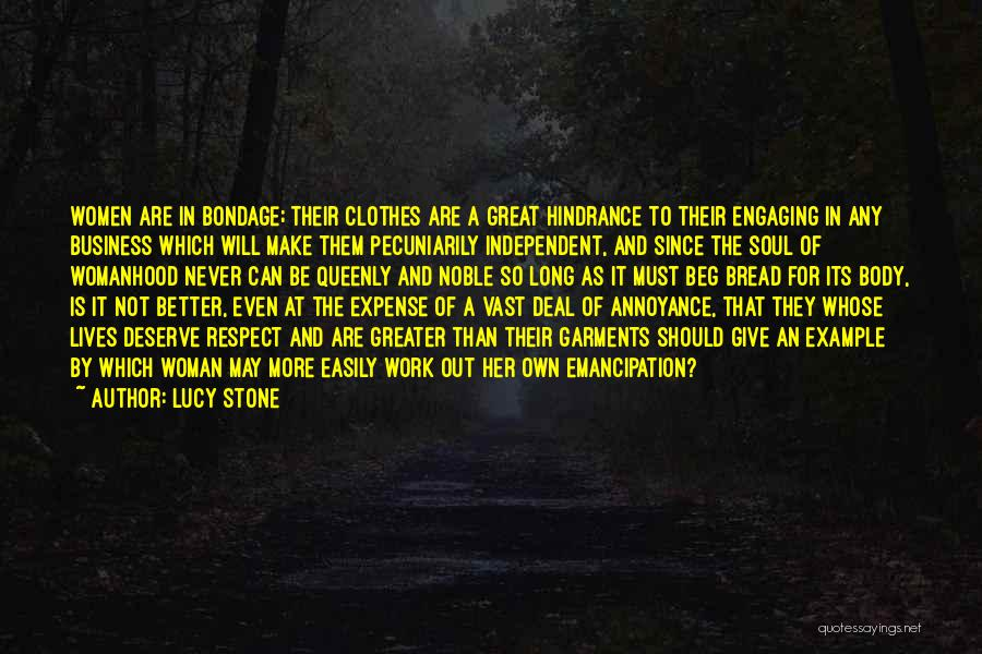 Lucy Stone Quotes 552417