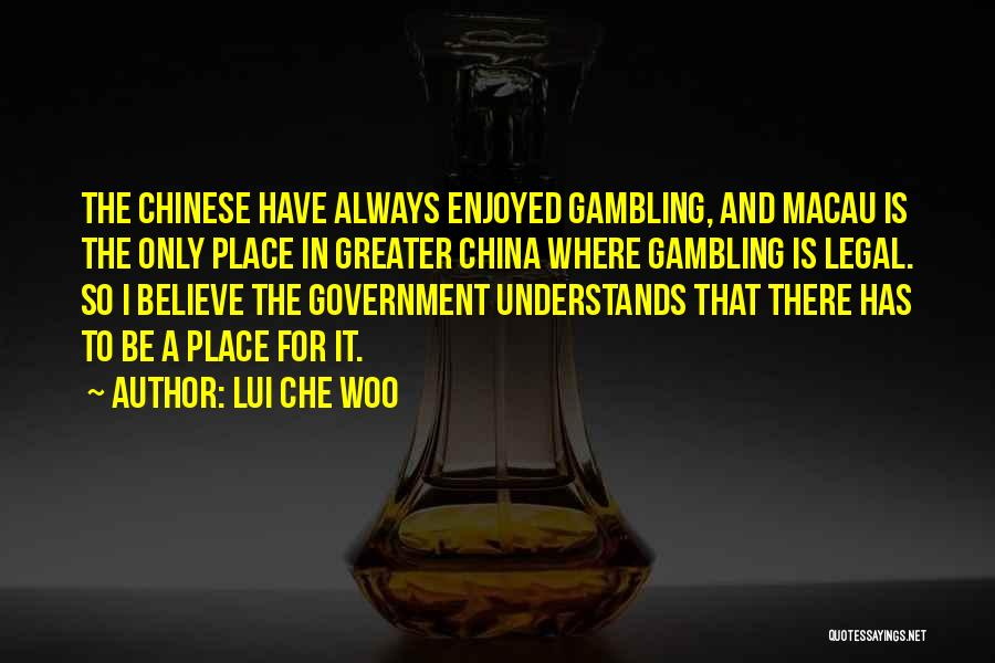 Lui Che Woo Quotes 1559842
