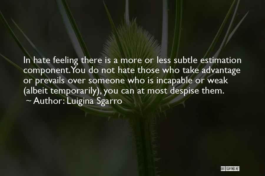 Luigina Sgarro Quotes 1195933