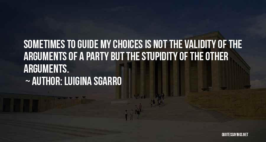 Luigina Sgarro Quotes 1763407