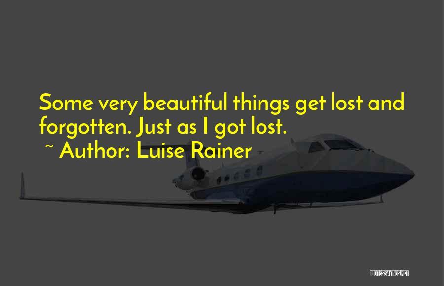 Luise Rainer Quotes 1277877