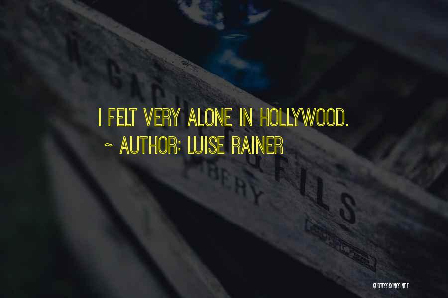 Luise Rainer Quotes 132479