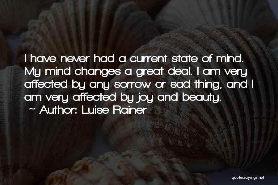 Luise Rainer Quotes 1549456