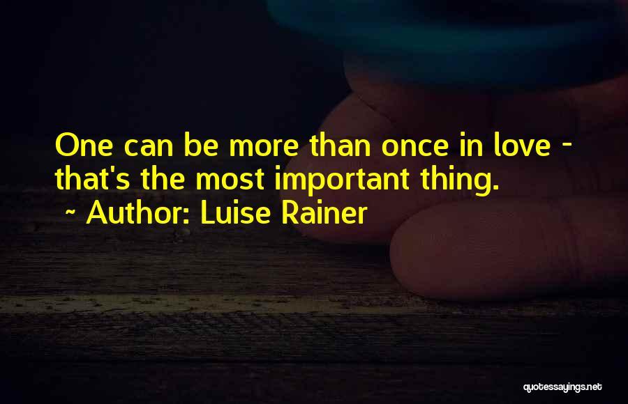 Luise Rainer Quotes 2081161