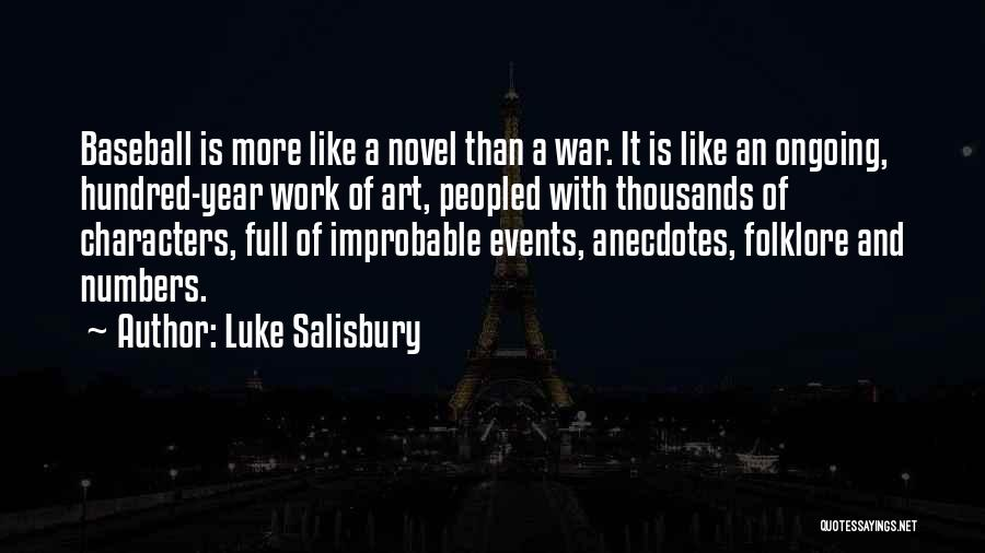 Luke Salisbury Quotes 1276740