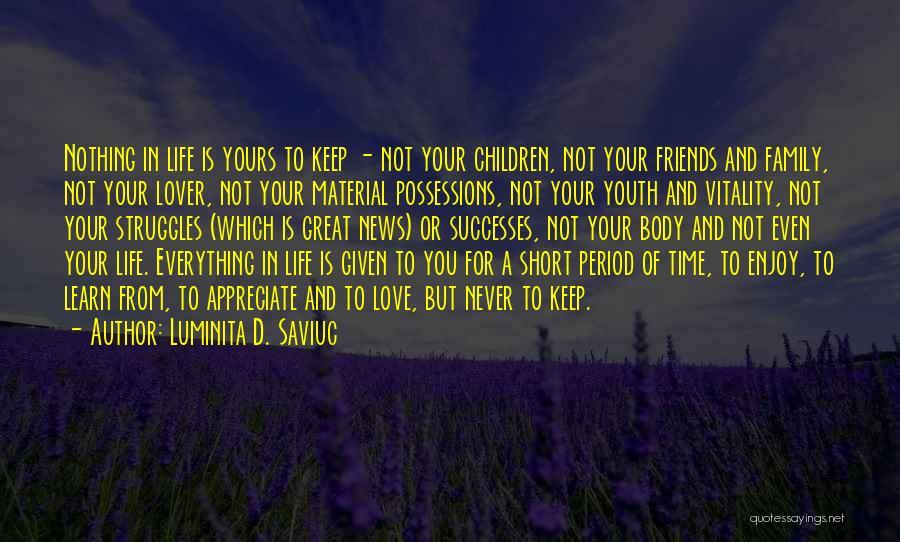 Luminita D. Saviuc Quotes 337586