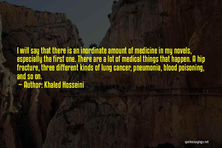 Lung Cancer Quotes By Khaled Hosseini