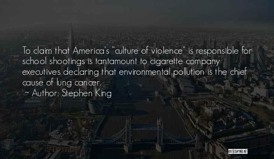 Lung Cancer Quotes By Stephen King