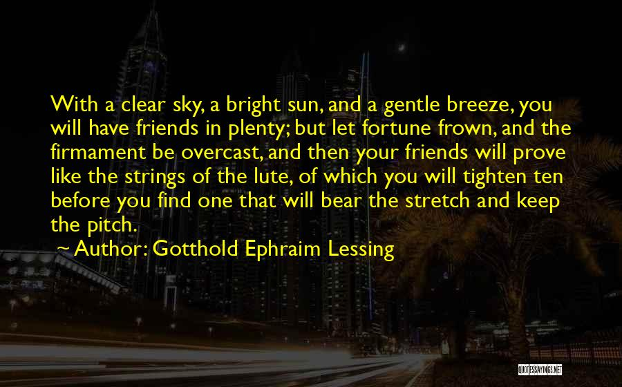 Lute Quotes By Gotthold Ephraim Lessing