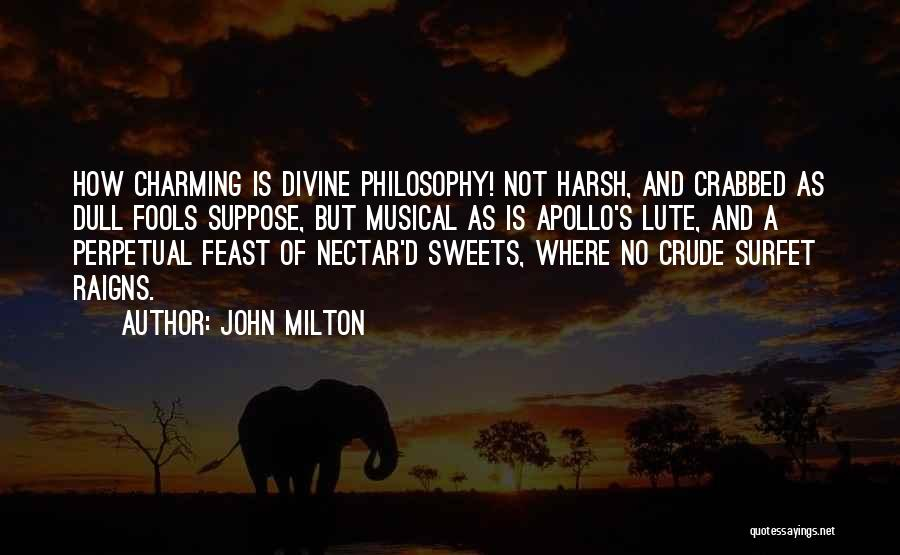 Lute Quotes By John Milton