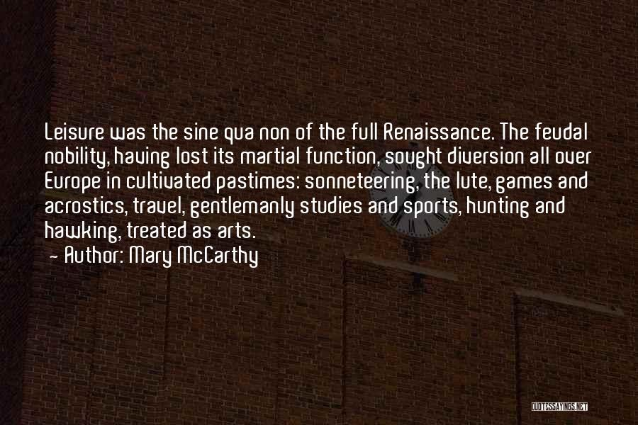 Lute Quotes By Mary McCarthy