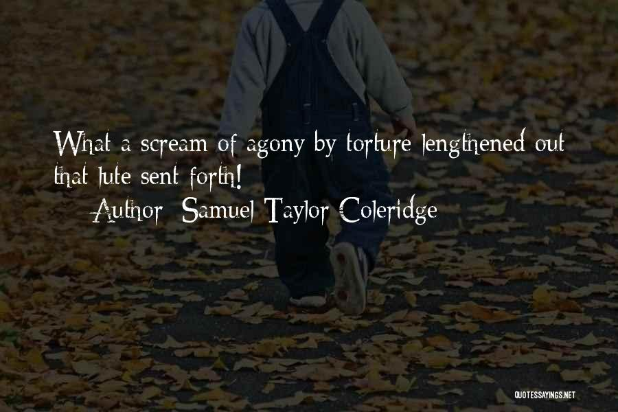 Lute Quotes By Samuel Taylor Coleridge