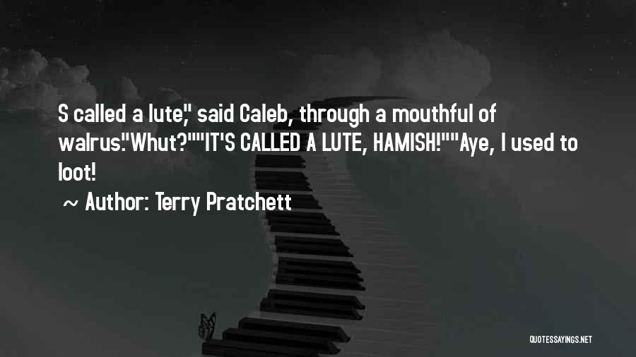 Lute Quotes By Terry Pratchett