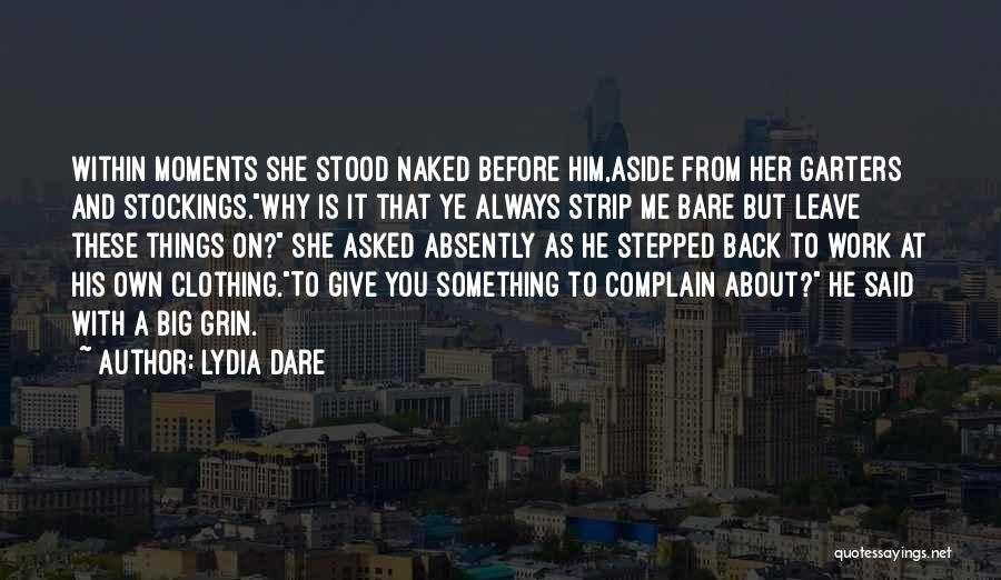 Lydia Dare Quotes 827085