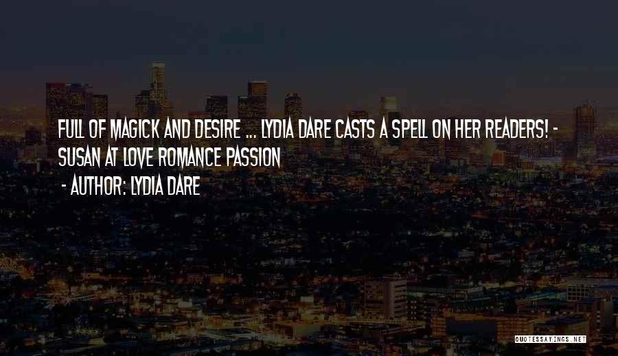 Lydia Dare Quotes 932685
