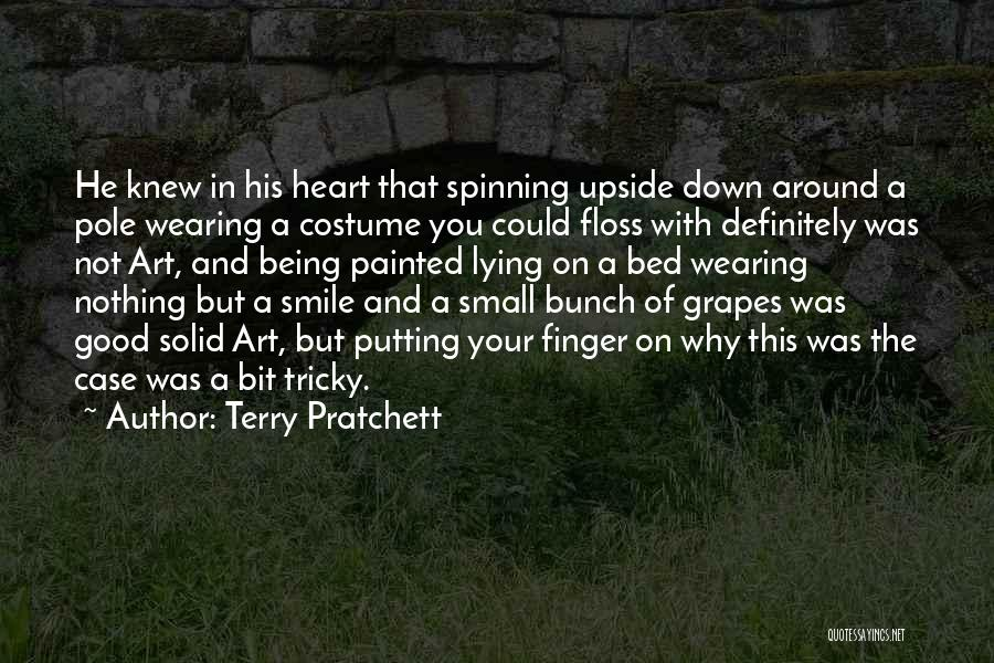 Lying Being Good Quotes By Terry Pratchett