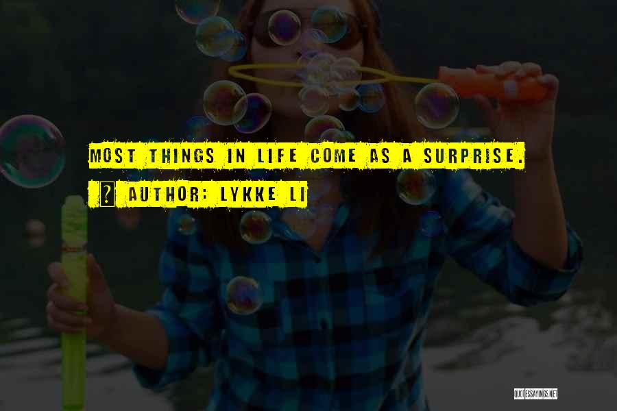 Lykke Li Quotes 1496130