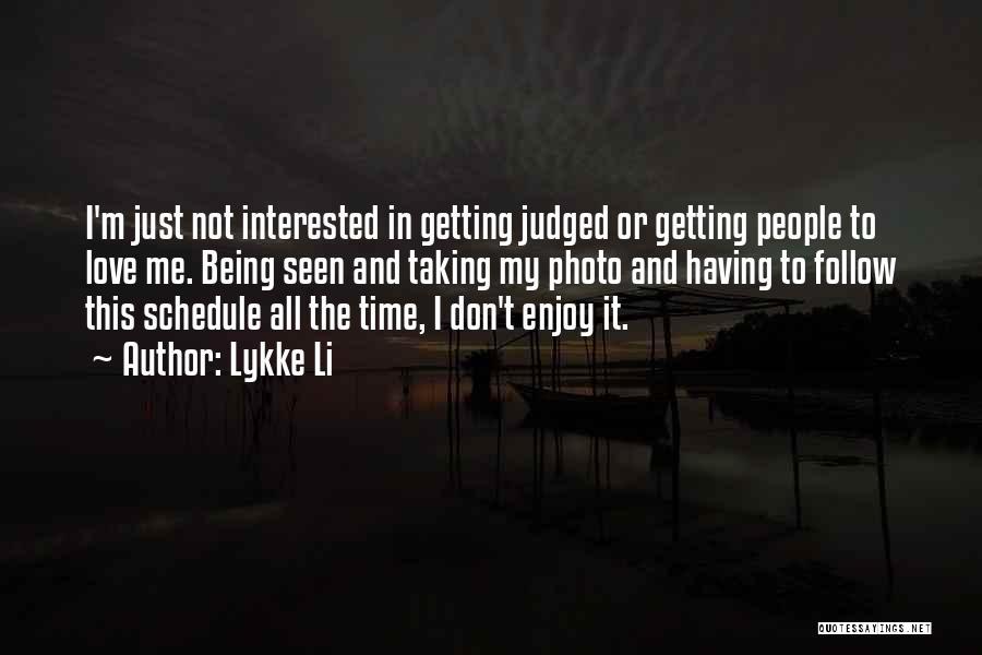 Lykke Li Quotes 495717