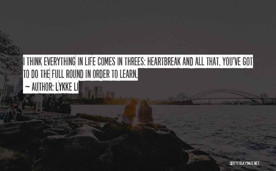 Lykke Li Quotes 497823