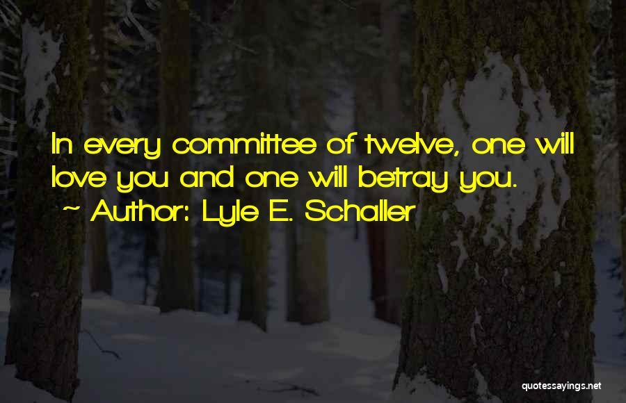 Lyle E. Schaller Quotes 898400