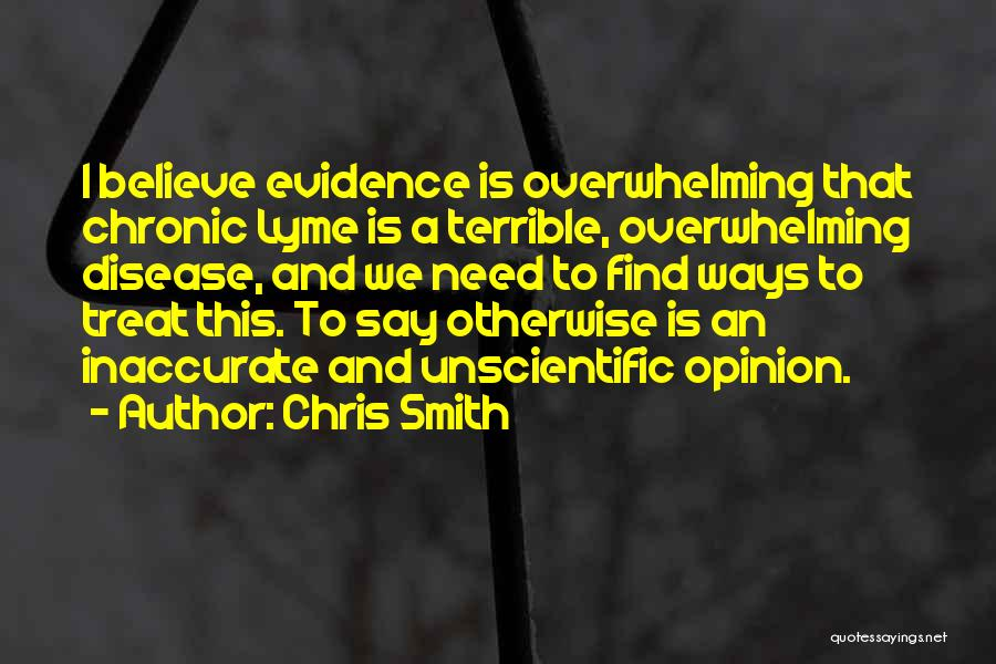 Lyme Quotes By Chris Smith