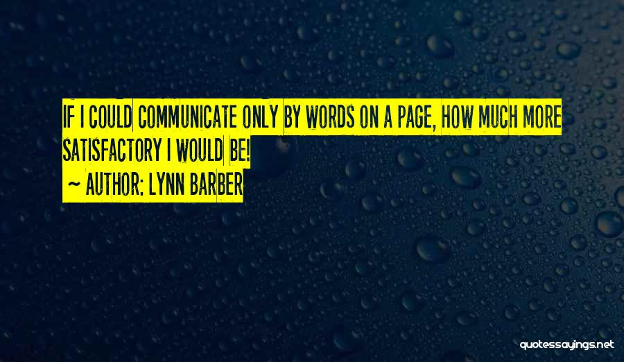 Lynn Barber Quotes 1111442